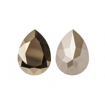 4320 14x10 mm Crystal Metallic Light Gold
