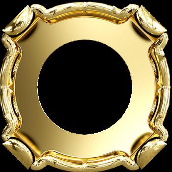 Оправа для шатона Сваровски Xirius SS39 Gold Plating