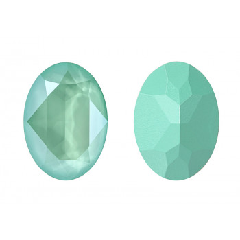 4120 14x10 mm Crystal Mint Green