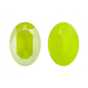 4120 14x10 mm Crystal Lime