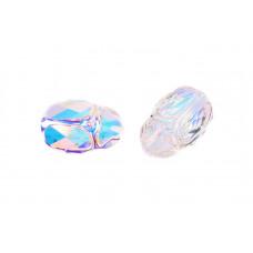 Бусина Scarab Bead 12mm - Crystal AB