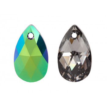 6106 Подвеска Swarovski Crystal Scarabaeus Green - 22 mm