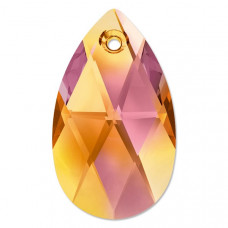 6106 Подвеска Swarovski Pear Shaped Crystal Astral Pink - 22 мм