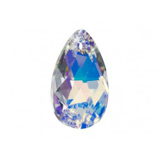 6106 Подвеска Swarovski Pear Shaped Crystal AB - 22 мм