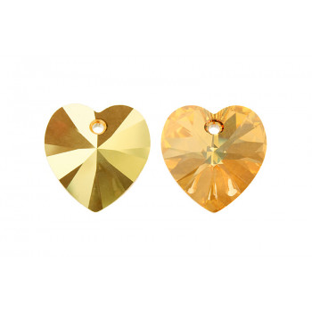 6228 Подвеска Swarovski Crystal Metallic Sunshine - 10,3x10 mm