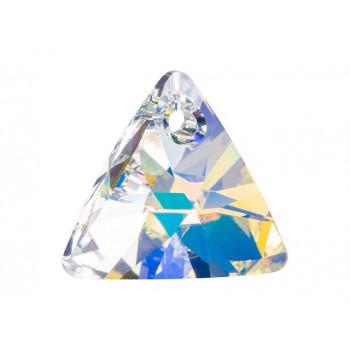 6628 Подвеска Swarovski Triangle Crystal AB - 16 мм