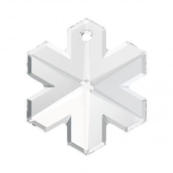 6704 Подвеска Swarovski Snowflake Crystal - 20 mm