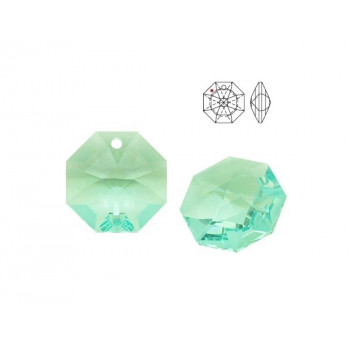 8115 Подвеска Swarovski Octagon Antique Green - 14 мм