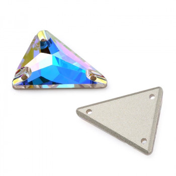 Swarovski Slim Triangle Crystal AB