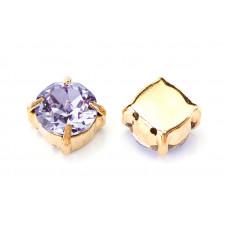 Шатон с кристаллом Swarovski Gold Provence Lavender