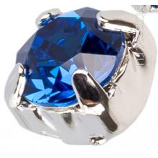 Шатон с кристаллом Swarovski Capri Blue