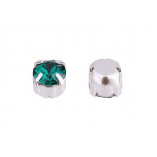 Шатон с кристаллом Swarovski Emerald