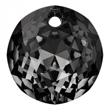 6430 Подвеска Swarovski Crystal Silver Night - 8 mm