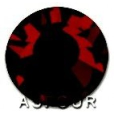 Стразы Asfour холодной фиксации Garnet
