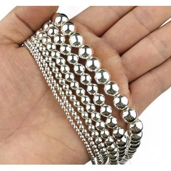 Бусины-шарики (серебро)