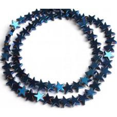 Бусины Звездочки (синие)