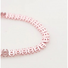 Бусина Chanel Pink, 3 шт