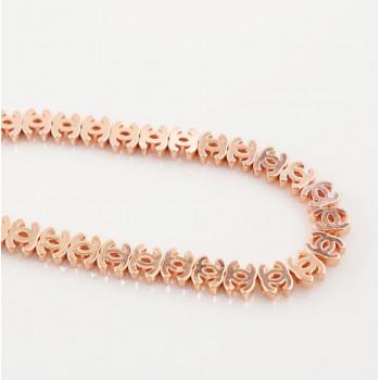 Бусина Chanel Rose Gold, 3 шт