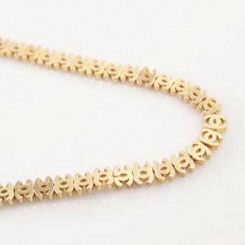 Бусина Chanel Light Gold, 3 шт