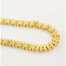 Бусина Chanel Gold, 3 шт