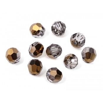 Бусины круглые XILION Beads Swarovski Crystal Dorado