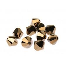 Биконусы XILION Swarovski Crystal Dorado 2X