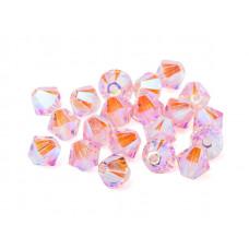 Биконусы XILION Swarovski Light Rose Shimmer 2X
