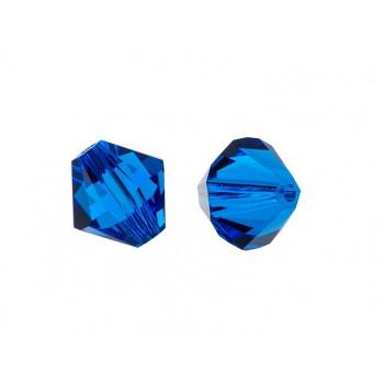 Биконусы XILION Swarovski Capri Blue