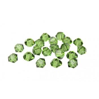 Биконусы XILION Swarovski Fern Green
