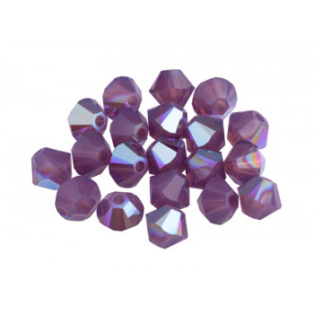 Биконусы XILION Swarovski Cyclamen Opal Shimmer