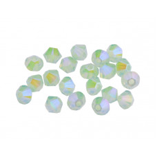 Биконусы XILION Swarovski Chrysolite Opal Shimmer 2X