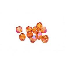 Биконусы XILION Swarovski Crystal Astral Pink