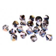 Биконусы XILION Swarovski Crystal Heliotrope