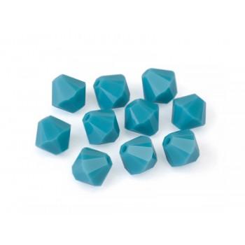 Биконусы XILION Swarovski Turquoise