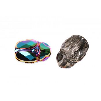 Бусина Swarovski Scarab 12 mm - Crystal Aurore Boreale
