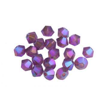 Биконусы XILION Swarovski Cyclamen Opal Shimmer 2X