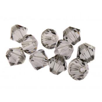 Биконусы XILION Swarovski Black Diamond