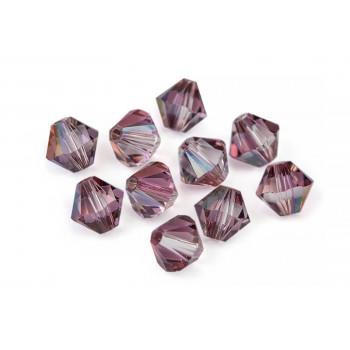 Биконусы XILION Swarovski Crystal Lilac Shadow