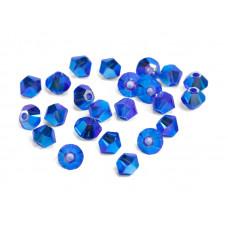 Биконусы XILION Swarovski Majestic Blue AB 2X