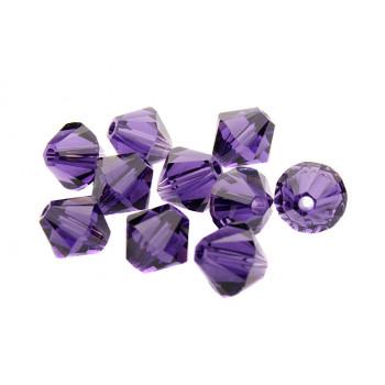 Биконусы XILION Swarovski Purple Velvet