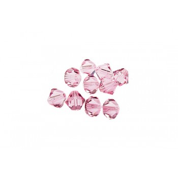 Биконусы XILION Swarovski Light Rose
