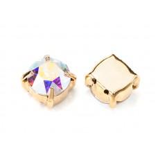 Шатон с кристаллом Swarovski Gold Сrystal AB