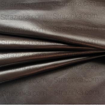 Натуральная кожа, цвет темно-бронзовый перламутровый
