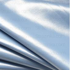Натуральная кожа, цвет голубой перламутр