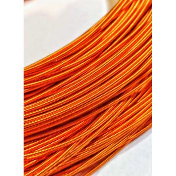 Жесткая канитель 1,25 мм. Оранжевая (1 метр)