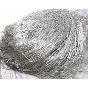 Мягкая канитель 1 мм. Серебро (5 гр.)