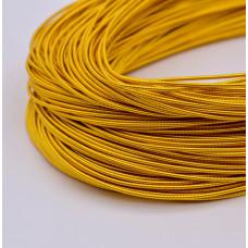 Жесткая канитель 1 мм. Яркое золото (5 гр.)