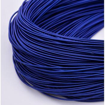 Жесткая канитель 1 мм. Синяя (1 метр)