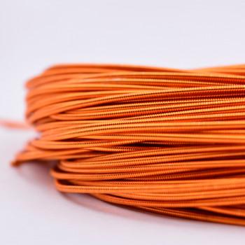 Жесткая канитель 1 мм. Оранжевая (1 метр)