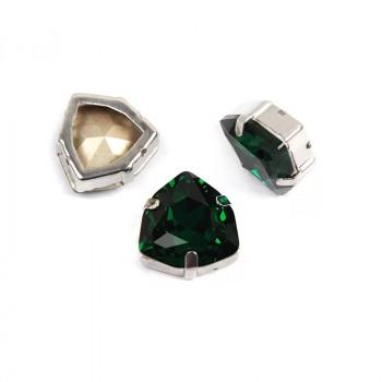 Trilliant Emerald в оправе (хрусталь)
